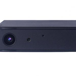 imagen frontal de la cámara oculta para coche con batería