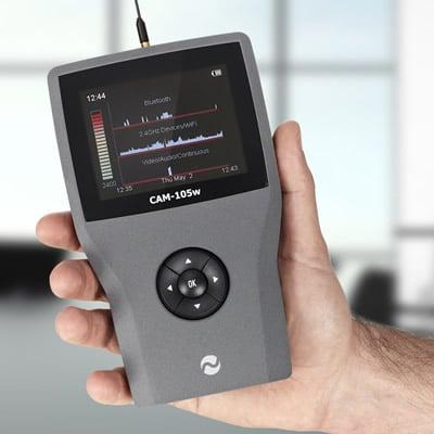 detector de gps cam-105w imagen frontal