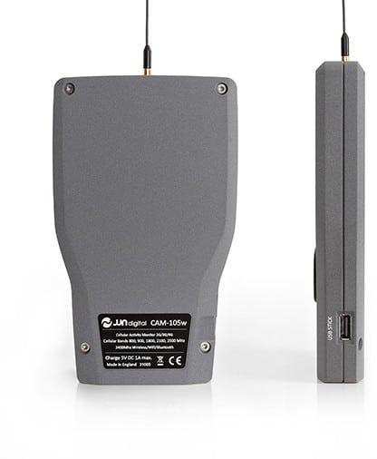 detector de gps cam-105w imagen parte trasera